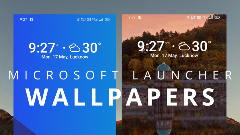 How to change Wallpaper in Microsoft Launcher