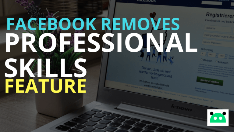 Facebook Removing Professional Skills Section from Profile
