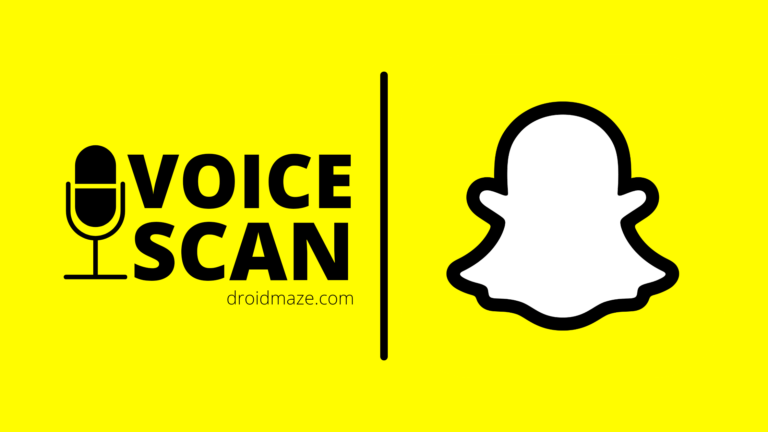 Snapchat rolled out Voice Scan feature for Everyone