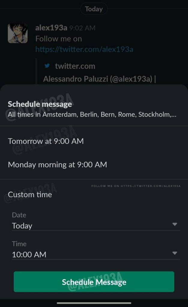 Slack bringing Scheduled Messages support to their Android App