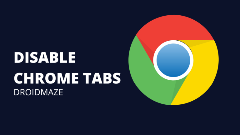 Get rid of forced Chrome Tab Groups on Android