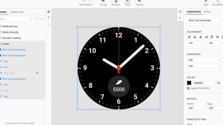 Samsung Galaxy MWC: Samsung Watchfaces design tool coming for Android developers