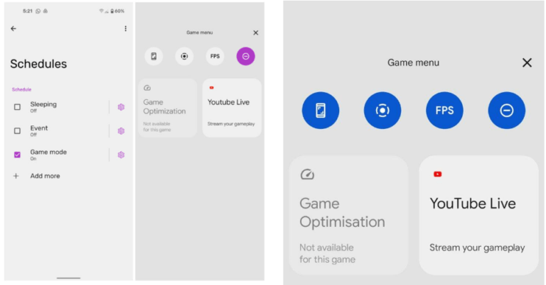 Android 12 native Game Mode is unveiled