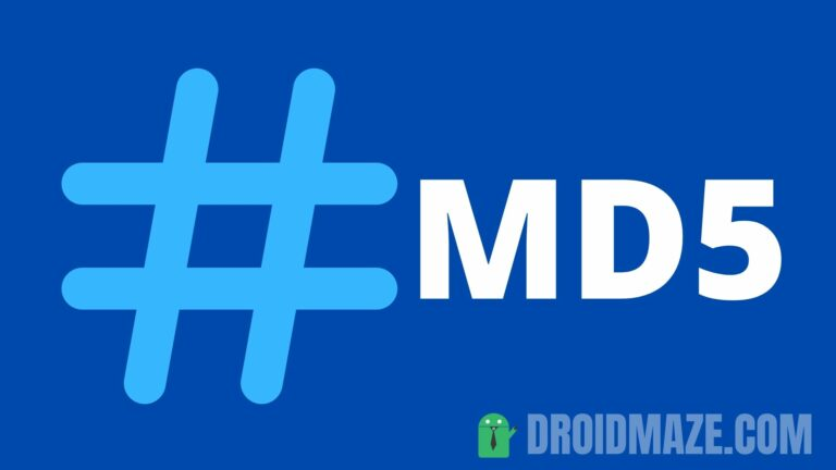 How to check MD5 checksum on Android