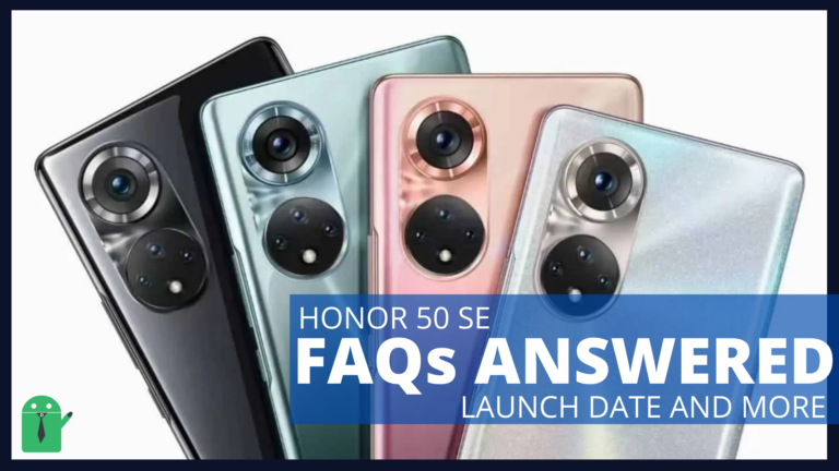 Honor 50 SE: FAQs, Launch Date and Features