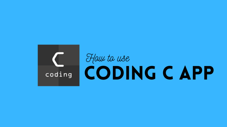 How to use Coding C Android App