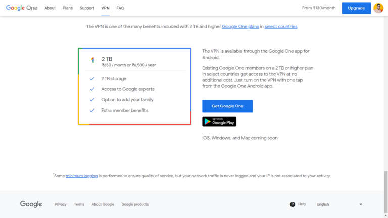 Google One VPN launched in Mexico and the United Kingdom