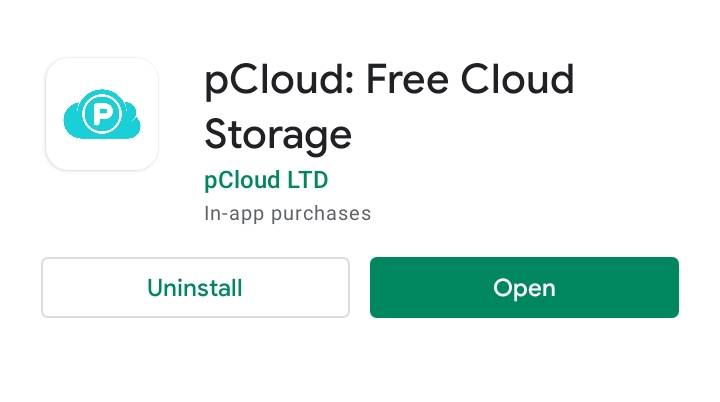 Download pCloud App to Backup Your Photos on Android