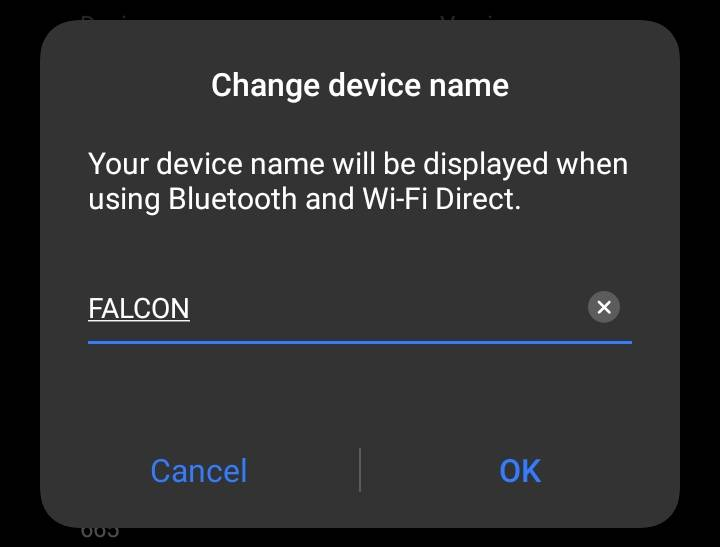 Change the Device Name