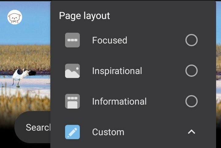 Disable News Feed in Edge for Android
