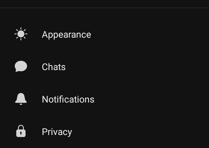 Change Chat Wallpaper in Signal