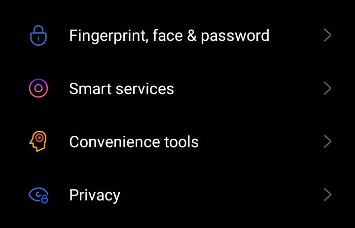 disable Smart Assistant in Oppo/Realme devices