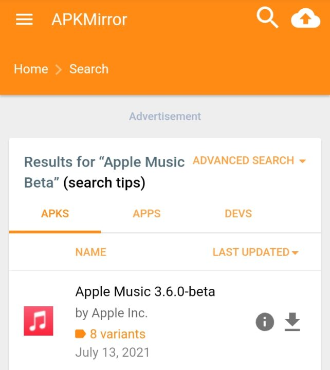 join Apple Music Beta on Android