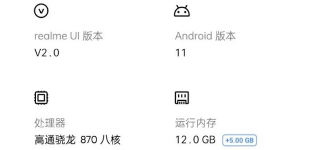 Realme smartphone with Snapdragon 870 leaked